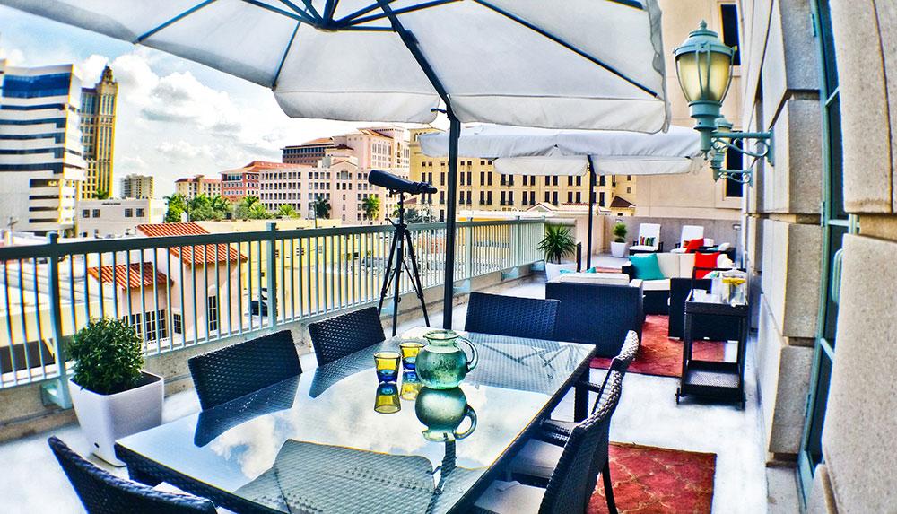 GenLife Miami balcony
