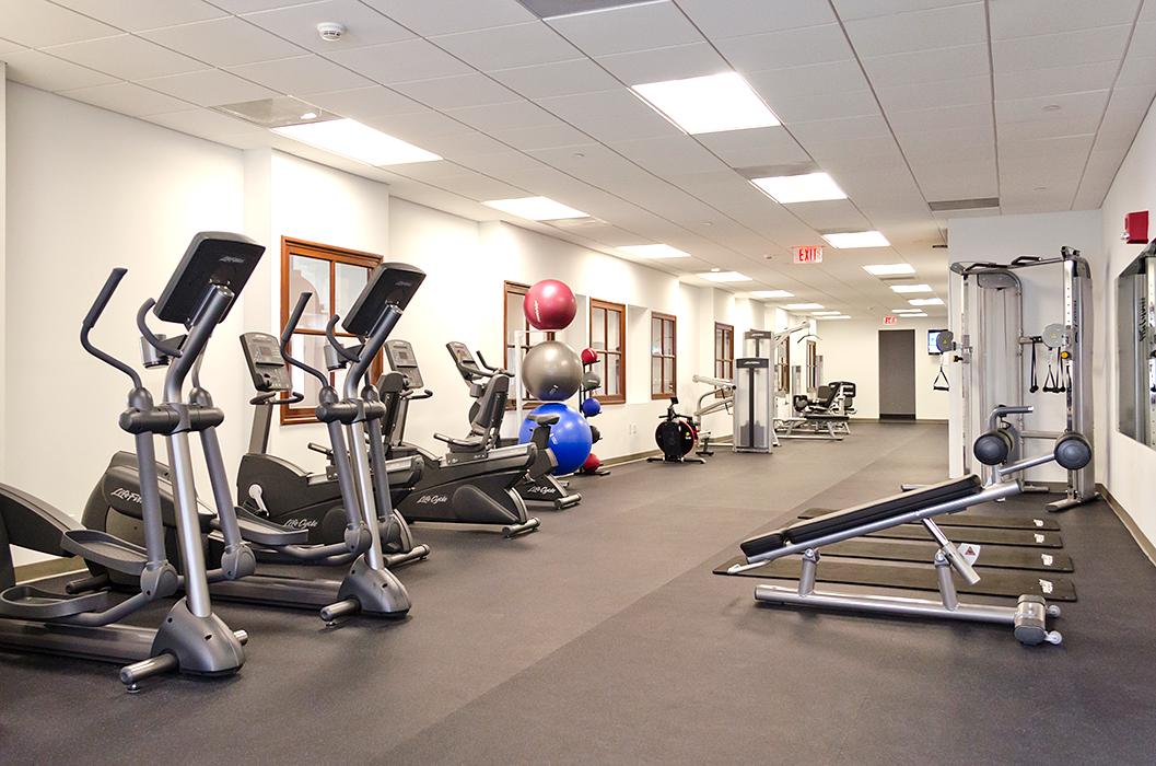 Gym GenLife Fitness Center.