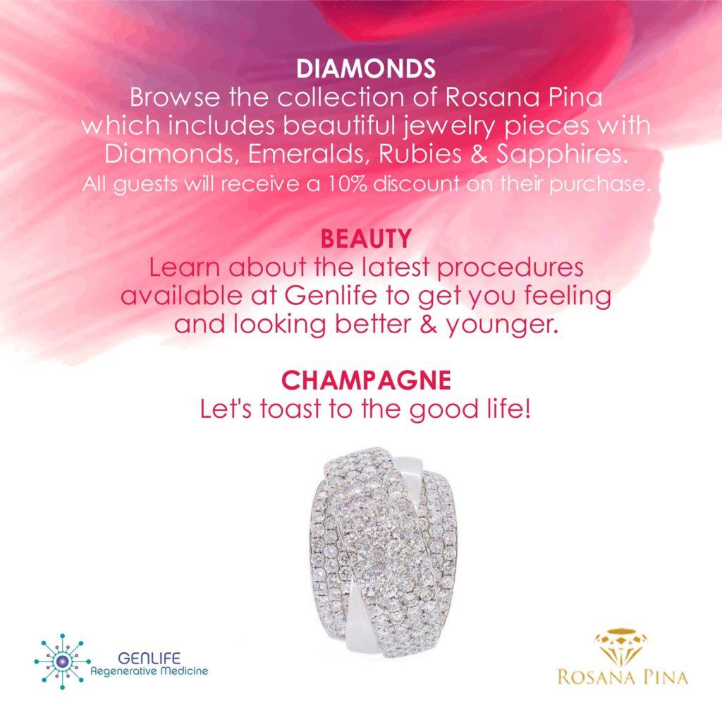 Diamonds, Beauty, & Champagne