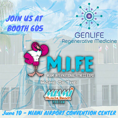 MIFE Fitness Expo GenLife Dr. Mahl