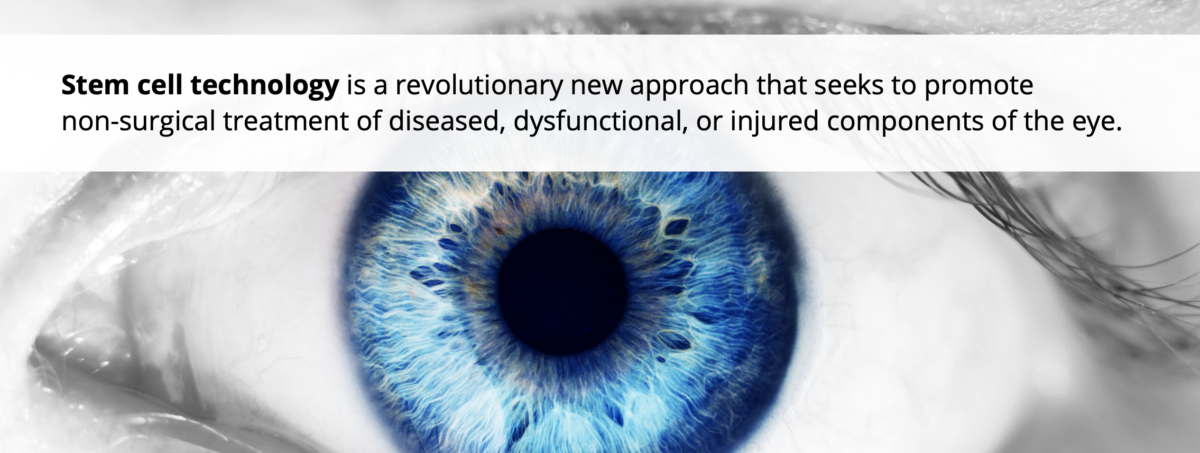 Eye problems? Stem cell therapy can come to the rescue!