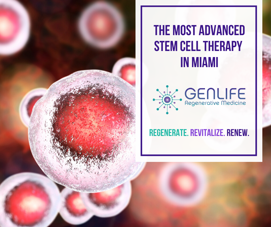 stem cells for pain management miami